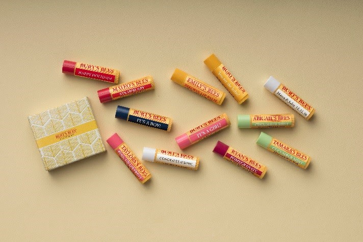 Burt's Bees Personalized Beeswax Lip Balm