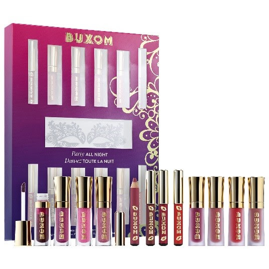 Buxom Cosmetics Party All Night Mini Lip Plumping Vault