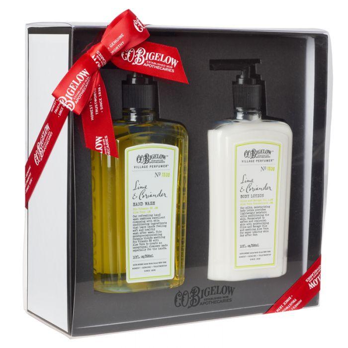 C.O. Bigelow Hand Wash Body Lotion Duo Gift Set - Lime & Coriander