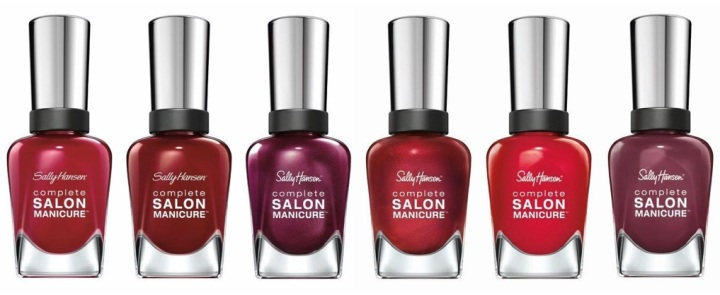 Complete Salon Manicure Ready in Reds Collection