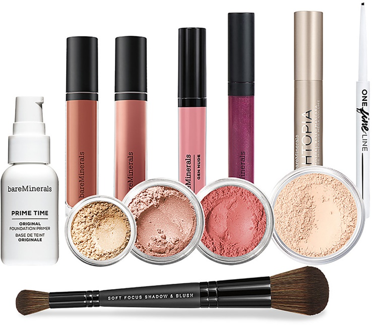 bareMinerals Supernova Space Glossary 12-Piece Full-Size Bestsellers Collection