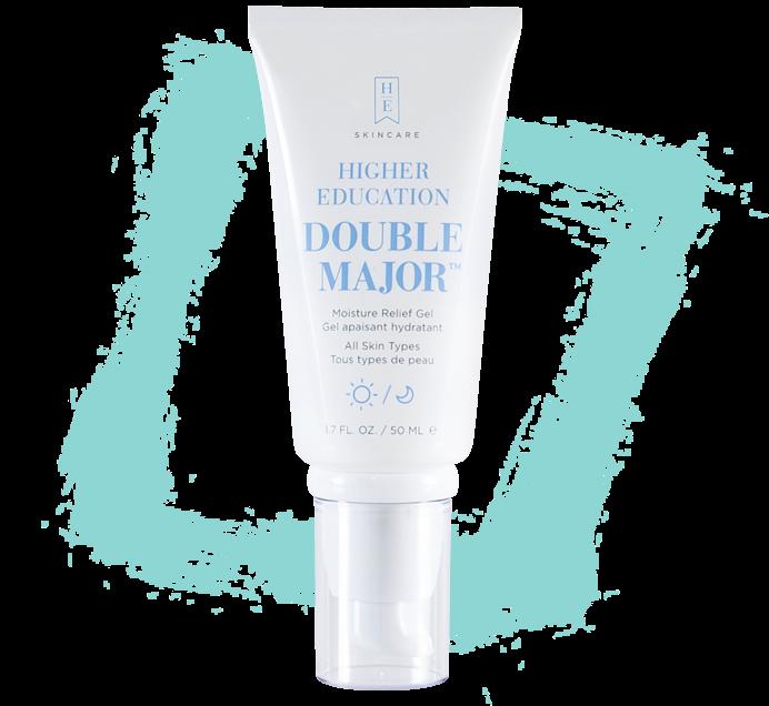 double major moisture relief gel