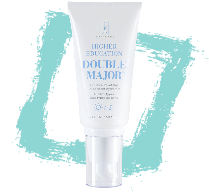 double major moisture relief gel
