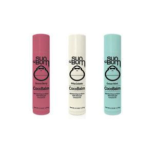 sun bum cocobalm moisturizing lip balms
