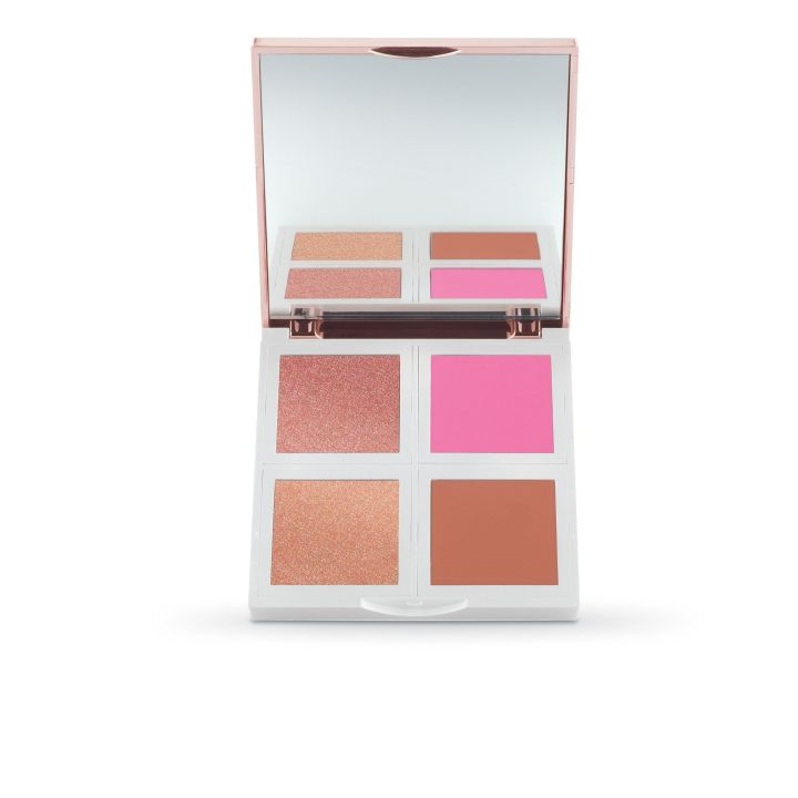 Josie Maran Vibrancy Argan Oil Fresh Face Paint Palette