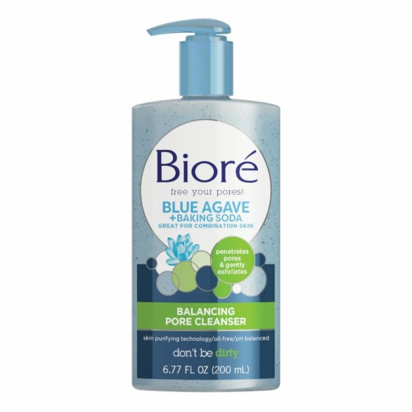 Bioré Blue Agave + Baking Soda Balancing Pore Cleanser