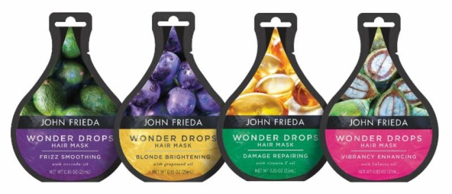 John Frieda Wonder Drops Hair Masks