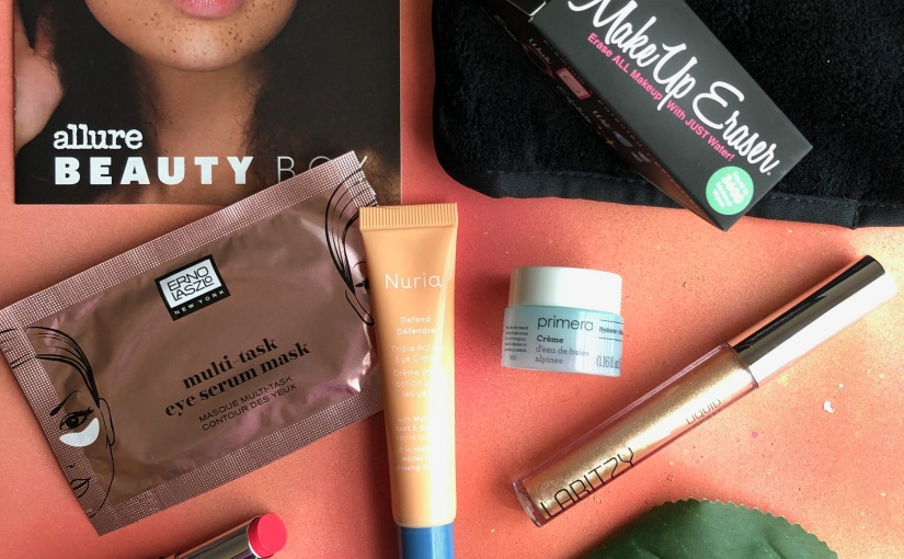 Allure Beauty Box August 2019